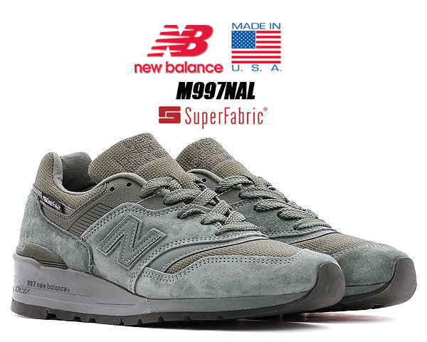 NEW BALANCE M997NAL MADE IN U.S.A. SuperFabric MILITARY PACK Width D ニューバランス M997 スニーカー NB 997 Dワイズ