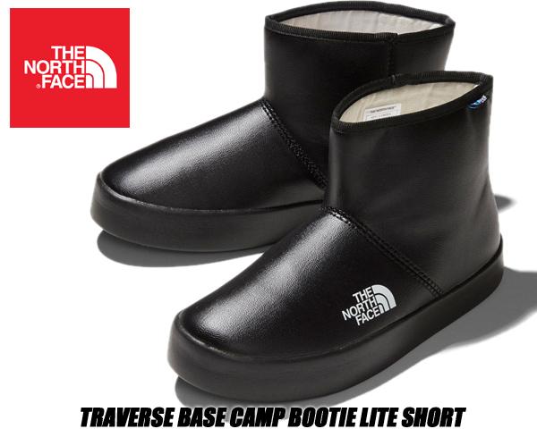 THE NORTH FACE TRAVERSE BASE CAMP BOOTIET LITE SHORT tnf black nf51946-kk ノースフェイス トラバース ベースキャンプ ブーティ ライトショート 耐水性 テックプルーフ ブーツ