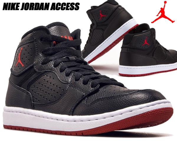 NIKE JORDAN ACCESS black/gym red-white ar3762-001 ナイキ ジョーダン アクセス スニーカー ブラック レッド AJ 日本未発売