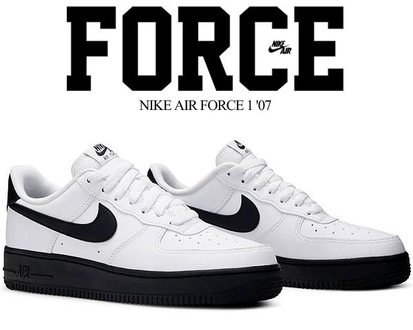 NIKE AIR FORCE 1 07 white/black ck7663-101 ナイキ エア フォース 1 07 スニーカー AF1 ホワイト ブラック 国内未発売