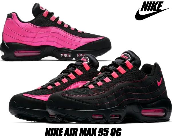 NIKE AIR MAX 95 OG black/pink blast-pink blast cu1930-066 ナイキ エアマックス 95 OG スニーカー AM95 ブラック ピンク