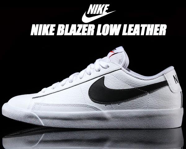 NIKE BLAZER LOW LEATHER white/black-orange blaze cz1089-100 ナイキ ブレザー ロー レザー スニーカー ホワイト ブラック ローカット