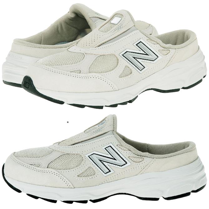 新平衡 W990 韶山 3 型滑上米色或白色