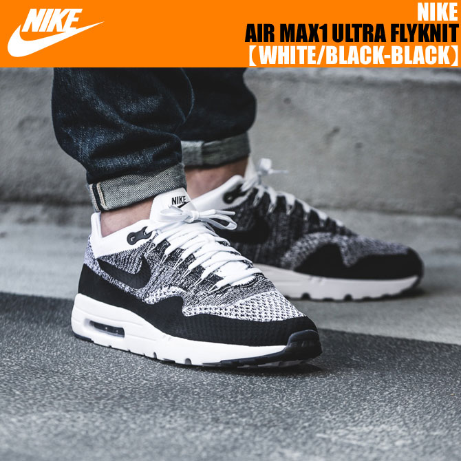 Nike Air Max 1 Ultra Flyknit Men Black