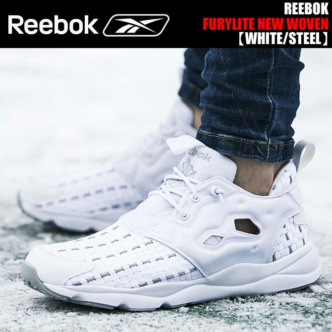 REEBOK FURYLITE NEW WOVEN WHITE/STEEL