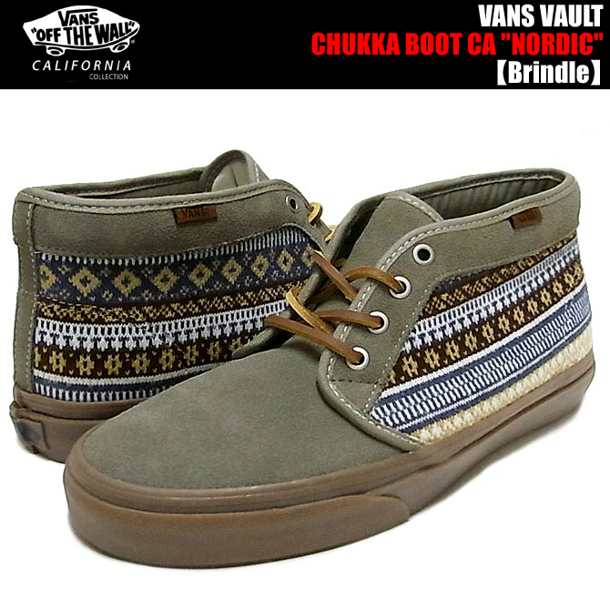 vans california chukka