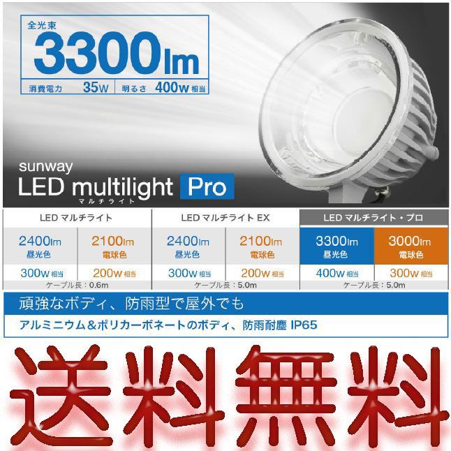 全国送料無料!省エネ照明 LED防水投光機 24W エコ SW-GL-020ED (投光器 看板灯 集魚灯 作業灯 駐車場 多用途ライト)