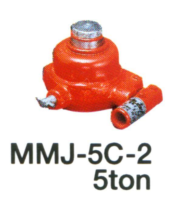 ミニタイプオイルジャッキ2t MMJ-5C-2 【マサダ製作所】【送料無料】油圧 機械 建築 土木 自動車【FS_708-7】【H2】