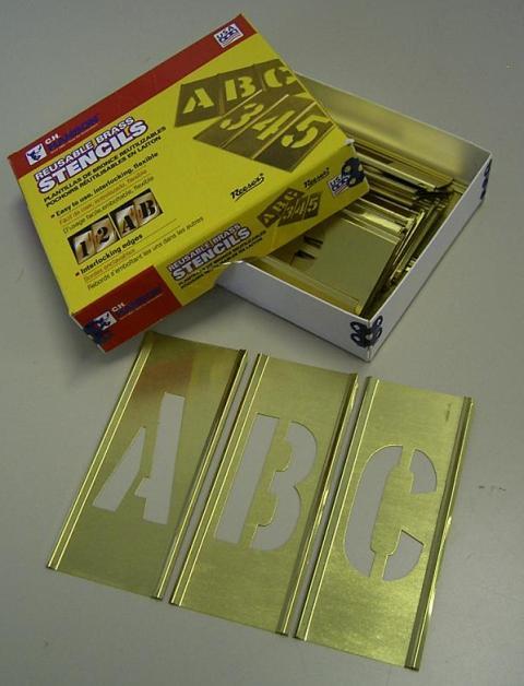 真鍮ステンシル(英字)75mm:PROMOTE:9AS075A【送料無料】【FS_708-7】【H2】