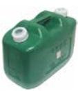 コンパクトサイズで軽油の移動に適しています 軽油缶10L 8個セットKS10Z-8 REX 中古 大放出セール VOL.38