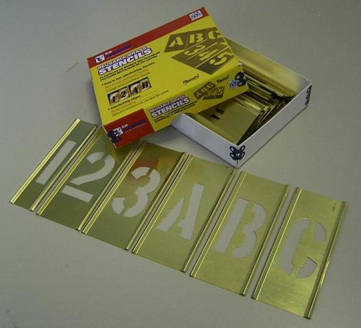 真鍮ステンシル(英数字)38mm:PROMOTE:9AS038AS【送料無料】【FS_708-7】【H2】