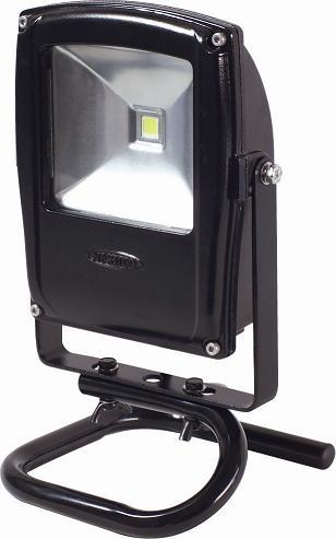 LEDエコナイター電球色スタンドタイプLEN-F10S-BK-S【日動工業2012】【送料無料】