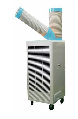排熱ダクト付 スポットクーラー三相(200V)首振りSPC-407T【送料・手数料込み】NAKATOMI(ナカトミ)【smtb-k】【w2】
