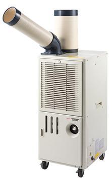 【個人宅不可】排熱ダクト付スポットクーラー SAC-1000【送料無料】NAKATOMI(ナカトミ)100V 小型業務用 冷房【代引決済不可】