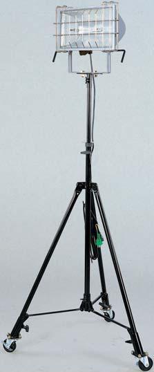 ハロゲンライト1000W ツインハロスター1000 1灯式スタンダード三脚仕様 HST-1000L 日動(NICHIDO)【送料無料】【smtb-k】【w2】【FS_708-7】【H2】