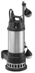 水中汚物用ポンプCXA-400(口径50mm)自動【寺田ポンプ】【送料無料】【FS_708-7】【H2】