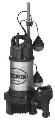 水中汚水用ポンプPGA-250(口径40mm)自動【寺田ポンプ】【送料無料】【FS_708-7】【H2】