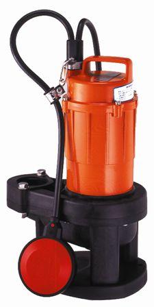 水中汚物用ポンプSXA-150(口径40mm)自動【寺田ポンプ】【送料無料】【FS_708-7】【H2】