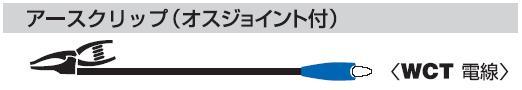 アースクリップ(オスジョイント付)10m NA-EJ10K 日動(NICHIDO)【送料無料】【smtb-k】【w2】【FS_708-7】【H2】