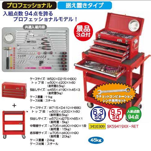 KTC工具セット景品付SK59419XX-SET