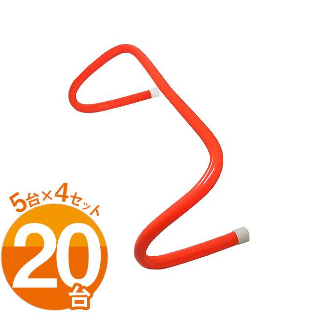ソフトハードル ミニハードル 15cm ハードル 陸上 5台×4セット(20台) LINDSPORTS リンドスポーツ