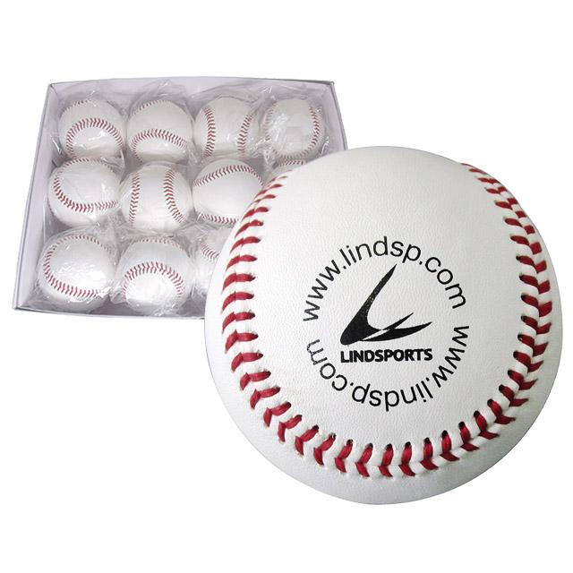 最高級の国産牛革、ウール100%のボール 硬式野球 練習用ボール 10ダース (120個入) 高品質 A革 硬式練習球 バージンウール100% 日本製牛革 LINDSPORTS リンドスポーツ