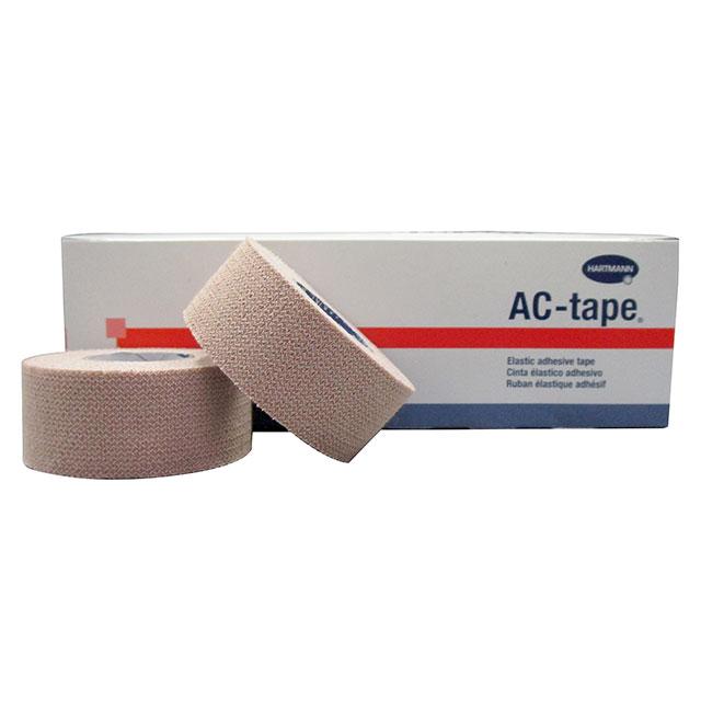 ハートマン ACテープ 幅 25mm ×長さ4.5m(伸長時) 12本/箱×4箱セット テーピングテープ LINDSPORTS リンドスポーツ