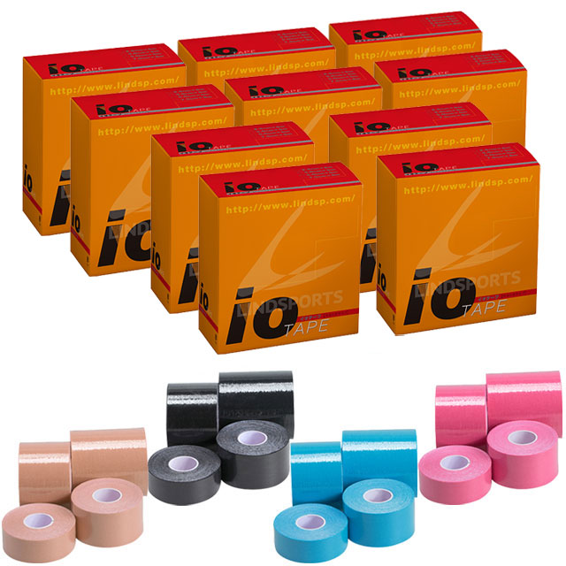 LINDSPORTS 【お得な10セット】イオテープ(38mm×5m・8本入)10セット