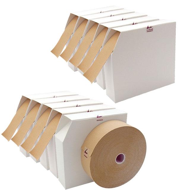 LINDSPORTS 【お得な10セット】【タン】業務用 イオテープ 50mmx31.5m(新仕様)キネシオロジーテープ[テーピングテープ/筋肉/保護]