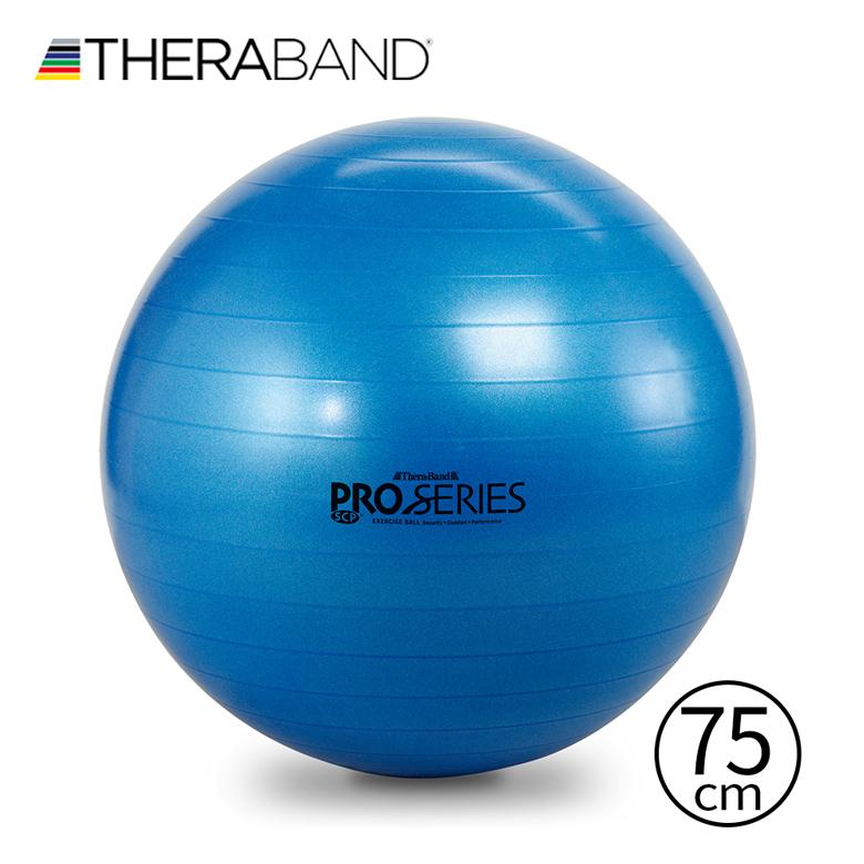 プロも愛用セラバンドバランスボール!座るだけでもOK耐荷重約453kg!! セラバンド TheraBand SCP 75cm ブルー 青 エクササイズボール バランスボール SCP75 LINDSPORTS リンドスポーツ