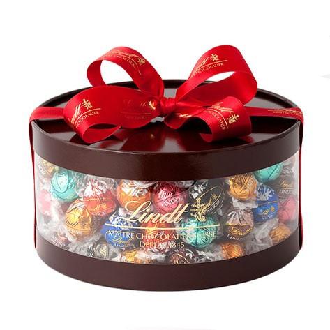 【公式】リンツ Lindt チョコレート リンドール ギフト ボックス 11種 100個入り【チョコ お菓子 おしゃれ かわいい リンツチョコレート 個包装 スイーツ 輸入菓子 プレゼント 輸入 リンツチョコ プチギフト 母の日 花以外 チョコレートギフト 母の日ギフト 父の日】