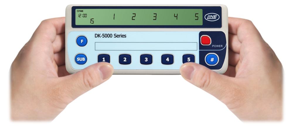 デジタル白血球分画カウンタ(電子数取器5連タイプ)