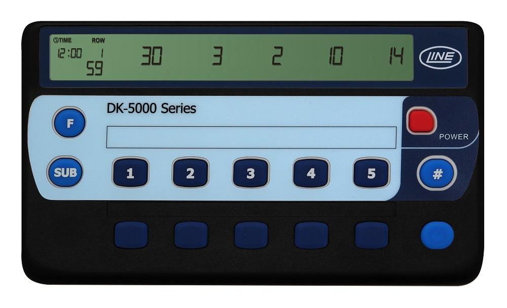 タイムスタンプ付10連式カウンタ DK-5010A