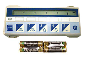 电子.5连数码口袋计数器:DK-4500(附带电池)