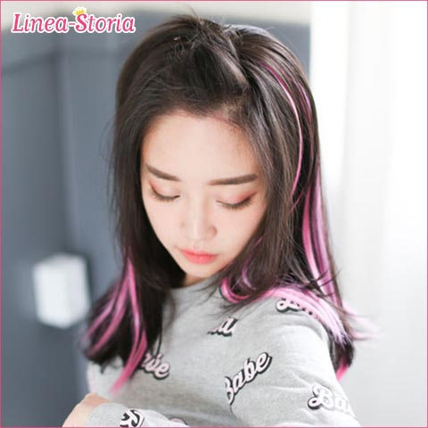 """Mesh extensions hair"" extensions mesh one-touch exte-hair extensions hair wig mesh extensions tip color. High-class and dance ponytail wontotchexte! Click on the hair wig kimono! Wig costume wedding LSRV"