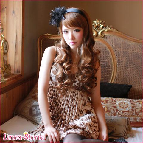 Send フルウィッグ ジュリエットガーリーウェイブ heat-resistant seasonal rich curls wig LSRV