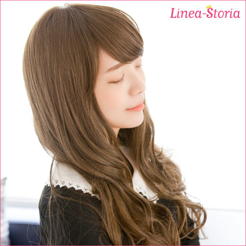 Angel Emma Long Wave wig / Hand made wig for medical