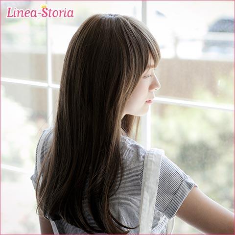 Medium wig long wig フルウィッグ 'Vivian-C' 'VIVIan-C' medium hair wig wig heat resistant ヘアスタイルリネア store LSRV