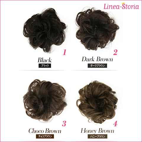 KIDS wig scrunchy bun wig bun wig wigs extensions kids Gothic Lolita dance wedding LSRV [M flight 4 / 12]
