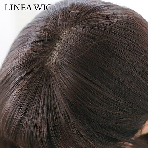 Hair wig for medical wigs for medical wigs medium who hair wig Angel natural wave MIDI man hair MIX (w/skin), people hair full wig wigs hand tied wigs lineawigplachnam LWP
