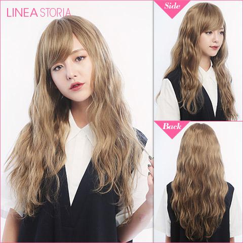 Wig / Naminami Long Wave / wig Fullwig