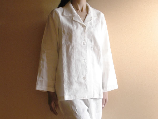 Linen Pajamas free gift wrapping ( ladies size L) [%]