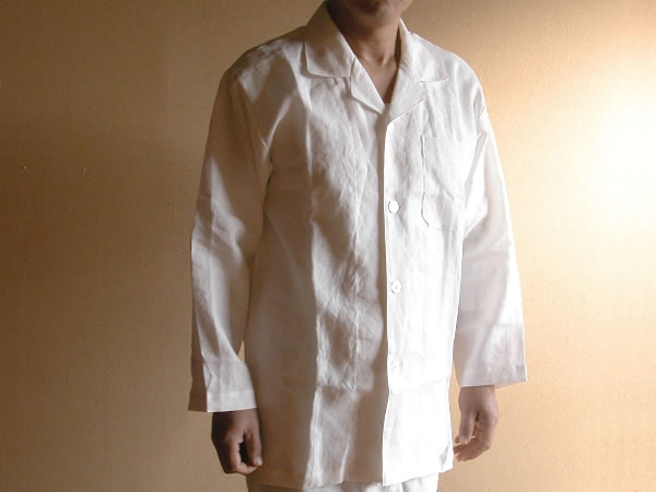 【10%OFFクーポン発行中】【送料無料】リネン パジャマ メンズ Mサイズ日本製 麻100%