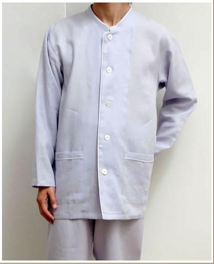 7d8af0e1421a linenhouse: 100% of linen pajamas men blue THE NIHON SEIMA Co., Ltd ...
