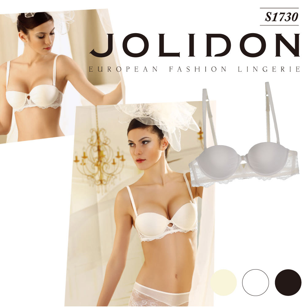 3ebf56640 Jolidon  ジョリドン direct import Europe import lingerie 2WAY stretch race  Swarovski Europe bra balcony cup 3 4 cup bra