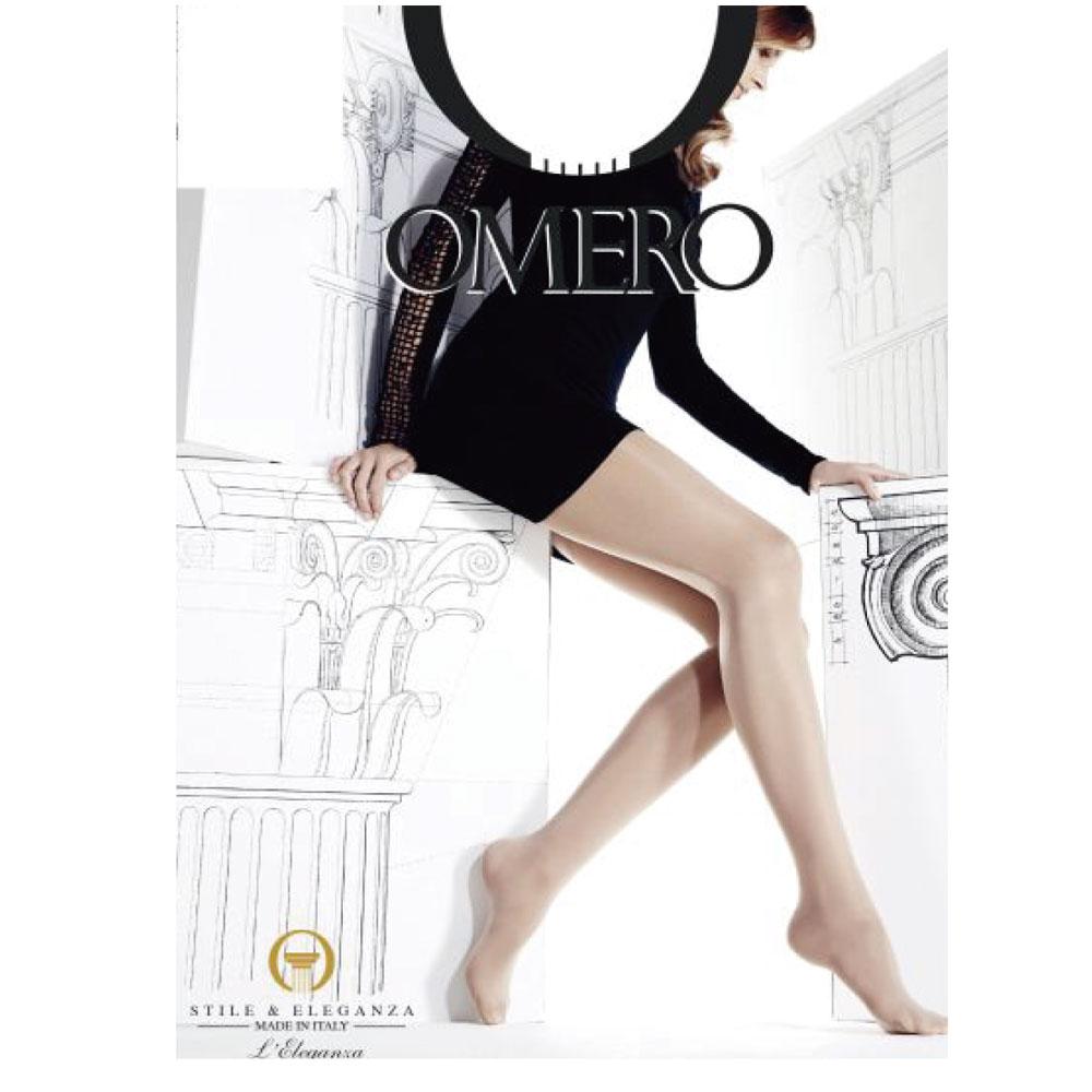 OMERO【オメロ】毎日履きたいマルチなストッキング☆オールスルー/ 強く優しく美しい !インポートストッキング/ オールスルーストッキング/マチ付 OMERO オメロ ELEGANCE LINE Collectionオールシーズン ライクラファイバーつま先フラット補強付きベーシックストッキングオールスルー/ イタリアストッキング/