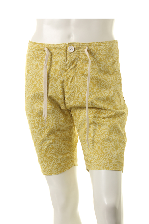 AKM エーケーエム paisley shorts pants{ ADS}dChxtsQr