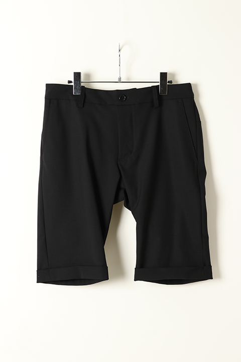 AKM エーケーエム 2way stretch summer wool 3-piece shorts{P050-WLU02-99-AES}