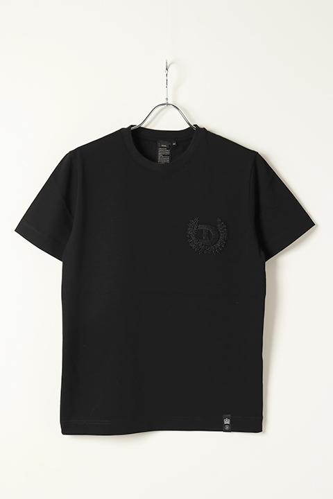 アウトレット 20%OFFセール 17 600円→14 080円 本日限定 DOUBLE ビーズ刺繍Tシャツ{0708-270-211-C-BAS} ダブルスタンダードクロージング STANDARD CLOTHING