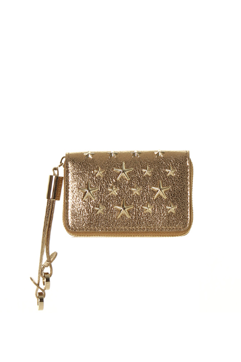 JIMMY CHOO ジミーチュウ GLITTER LEATHER WITH STARS{-AGS}
